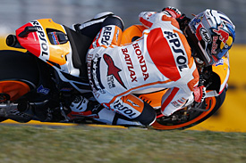 Pedrosa leads first practice in France