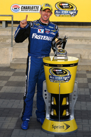 Carl Edwards takes All-Star pole, 2013