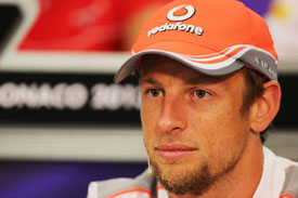 Jenson Button McLaren F1 2013