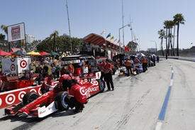 Scott Dixon, Ganassi, Long Beach IndyCar 2013