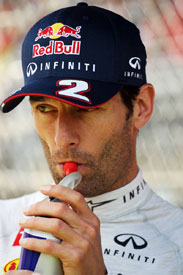 Mark Webber Red Bull F1 2013