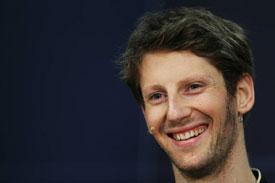 Romain Grosjean Lotus F1 2013