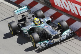 Rosberg tops first Monaco GP practice