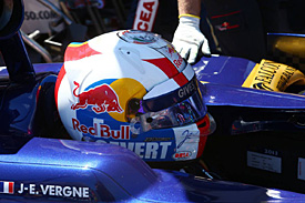 Vergne pays tribute to Cevert
