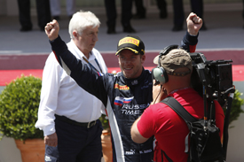 Sam Bird wins Monaco GP2 race 2013
