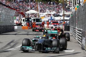 Гран При Монако: Льюис Хэмилтон назвал свое выступление 'недостаточно хорошим'