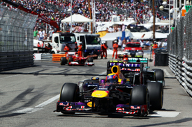 Mark Webber, Red Bull, Monaco GP 2013