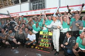Nico Rosberg wins 2013 Monaco GP