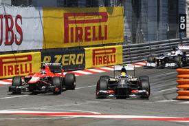 Max Chilton and Esteban Gutierrez, Monaco GP 2013