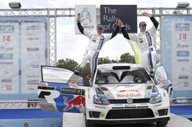 Jari-Matti Latvala wins Acropolis Rally 2013