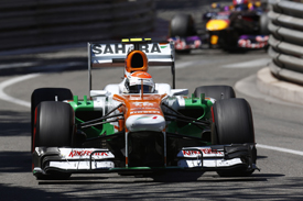 Adrian Sutil, Force India, Monaco 2013