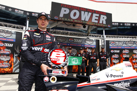 Will Power takes Texas IndyCar pole 2013