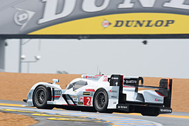 Duval puts Audi on top on test day