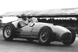 Jose Froilan Gonzalez, Ferrari, British GP 1951, Silverstone