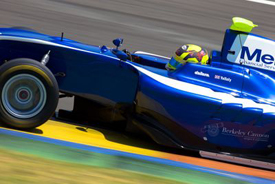 Nick Yelloly, Carlin, Valencia GP3 2013