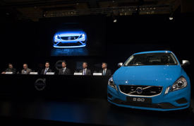 Volvo V8 Supercars announcement