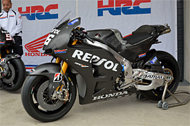 Honda ready to introduce 2014 bike early