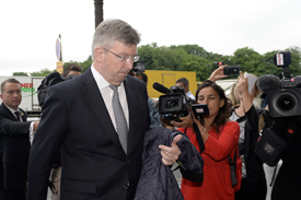 Ross Brawn at the FIA Tribunal
