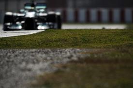 Nico Rosberg, Mercedes, Barcelona testing February 2013