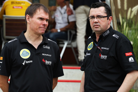 Alan Permane and Eric Boullier