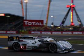 Loic Duval Audi Le Mans 2013