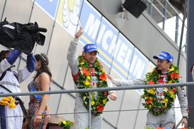 Tom Kristensen wins Le Mans