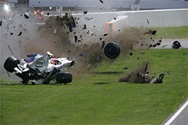 F1 to use new side impact system in 2014