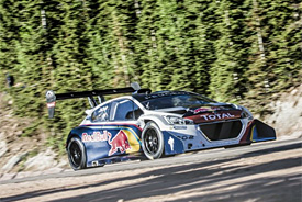 Loeb dominates Pikes Peak qualifying