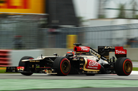 Romain Grosjean, Lotus, Canadian GP 2013, Montreal