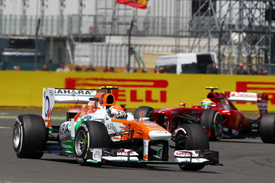 Adrian Sutil, Force India, British GP 2013, Silverstone