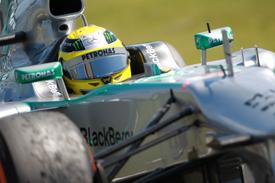 Nico Rosberg, Mercedes, British GP 2013, Silverstone