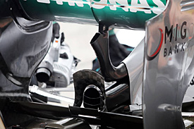 Mercedes trials passive DRS in practice