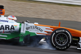 Paul di Resta, Force India, German GP, Nurburgring 2013