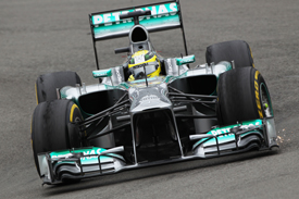 Nico Rosberg, Mercedes, German GP, Nurburgring 2013