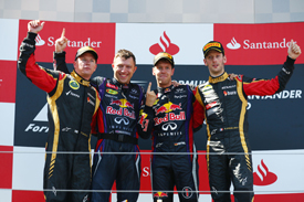 Sebastian Vettel wins German GP 2013