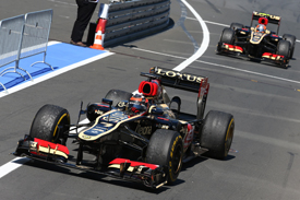 Kimi Raikkonen, Lotus, German GP 2013, Nurburgring