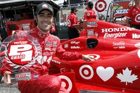 Dario Franchitti takes Toronto IndyCar pole 2013