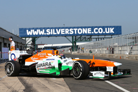 James Calado, Force India, Silverstone F1 testing, July 2013