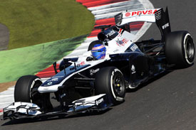 Susie Wolff Williams F1 2013