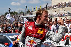 Mattias Ekstrom wins Norisring DTM race 2013