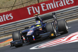 Tom Dillmann, Russian Time, Hungaroring GP2 2013