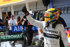 Lewis Hamilton takes Hungarian GP pole 2013