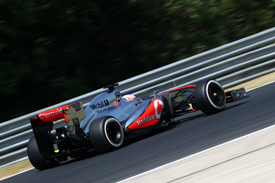 Jenson Button, McLaren, Hungarian GP 2013, Hungaroring