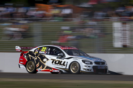 James Courtney, HRT, Townsville V8 Supercars 2013