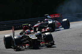 Romain Grosjean, Lotus, Hungarian GP 2013, Hungaroring