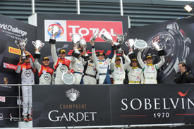 Spa 24 Hours podium 2013