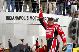 Ryan Newman wins Indianapolis NASCAR Sprint Cup race 2013