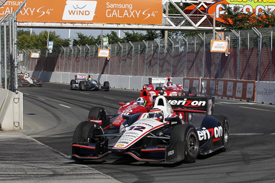 Dario Franchitti and Will Power incident, Toronto IndyCar 2013