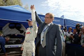 Markko Martin wins 2003 Rally Finland