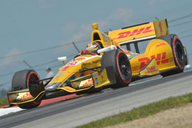 Ryan Hunter-Reay IndyCar 2013